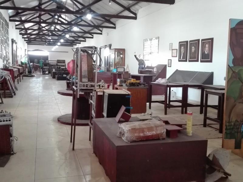 Museo zamorano permanece cerrado por fallas en remodelación