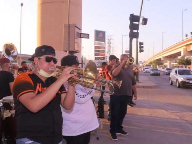 Músicos de Hermosillo piden a autoridades que los dejen trabajar