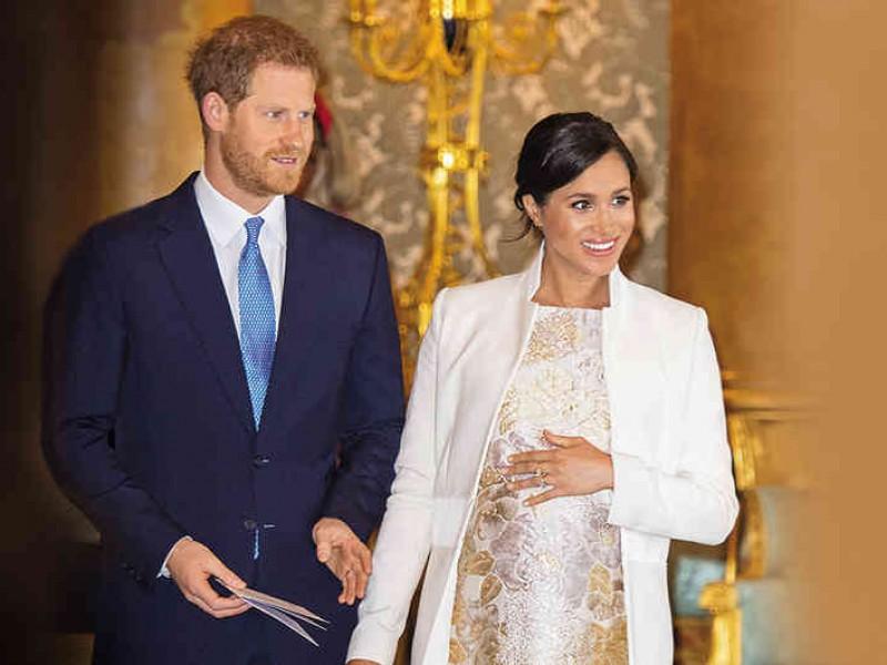 Nace bebé de Meghan y el príncipe Enrique