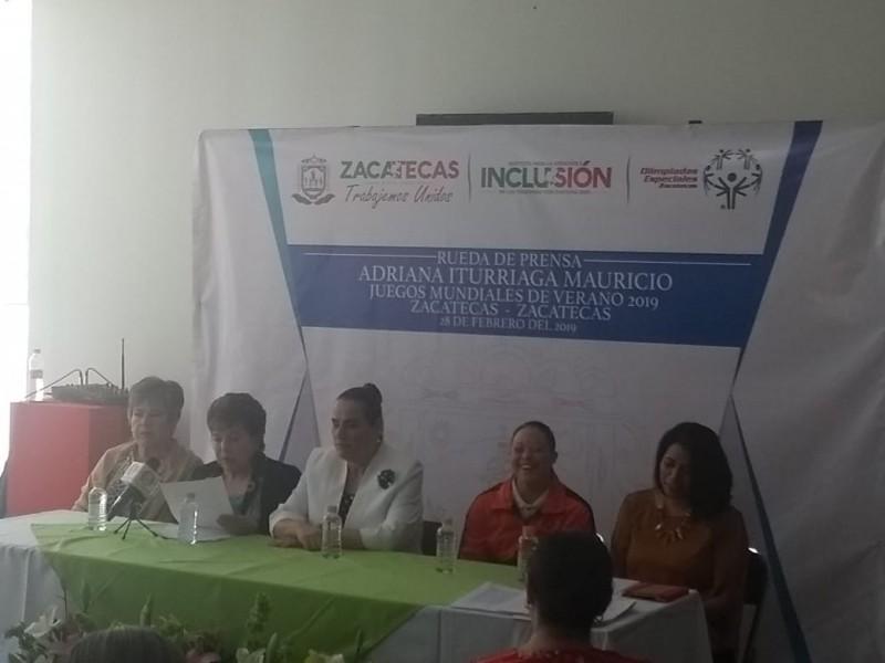 Nadadora zacatecana representará a México en Olimpiadas Especiales