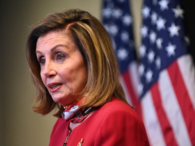 """Nancy Pelosi llama a Biden """"presidente electo"""" de EU"""
