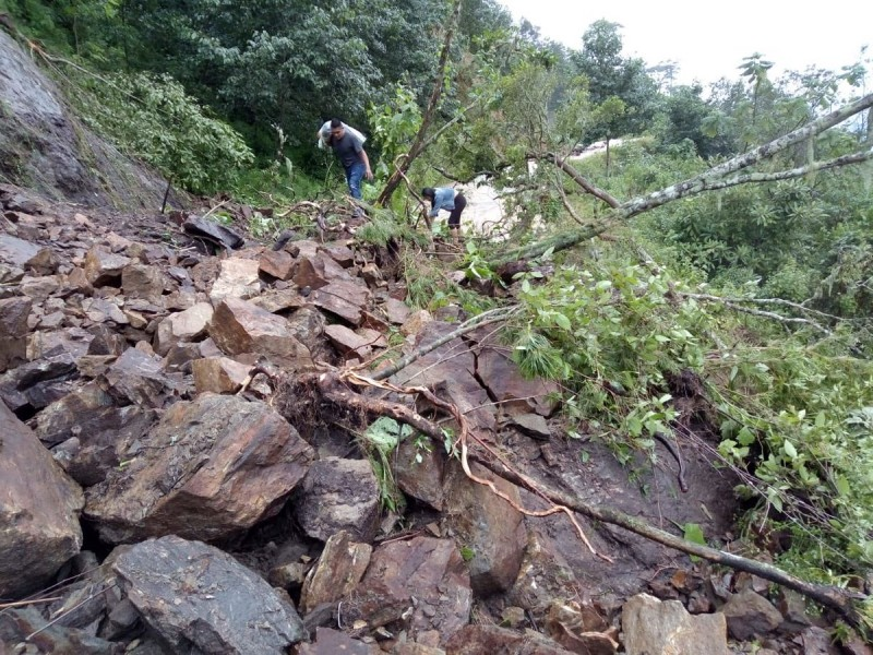 Narda deja un muerto en Oaxaca