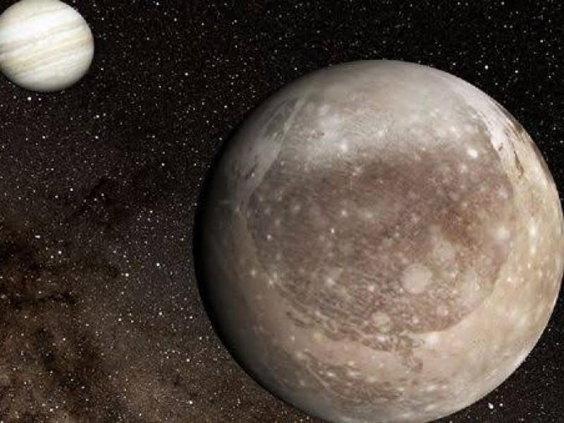 NASA detecta señal de radio procedente de Ganimedes