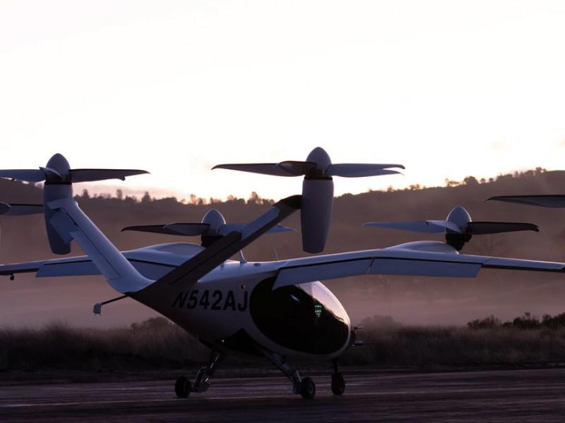 NASA prueba por primera ocasión prototipo de taxi volador eléctrico