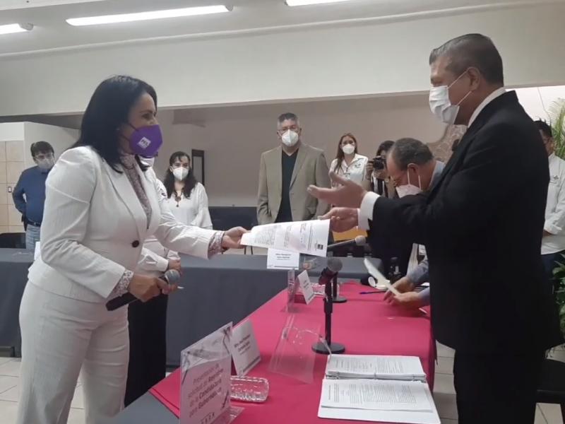 Natalia Rojas buscará la Gubernatura por el PES