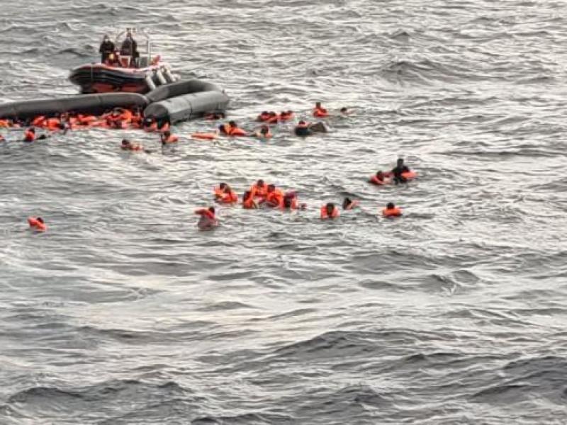 Naufragio migrante cobra la vida de 74 personas en libia