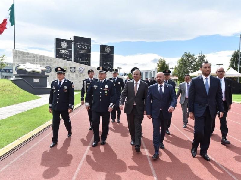Navarrete destaca labor de Policía Federal