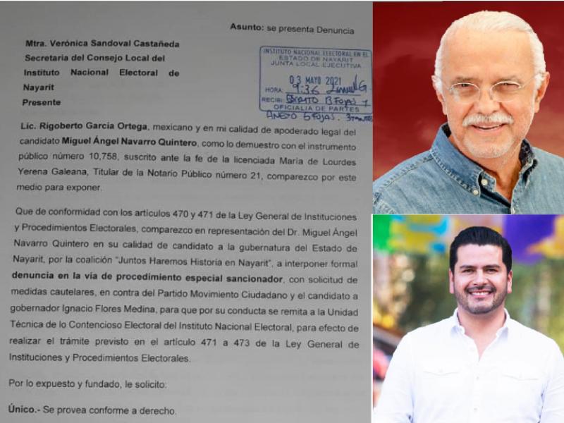 Navarro Quintero demanda a Ignacio Flores por difamación