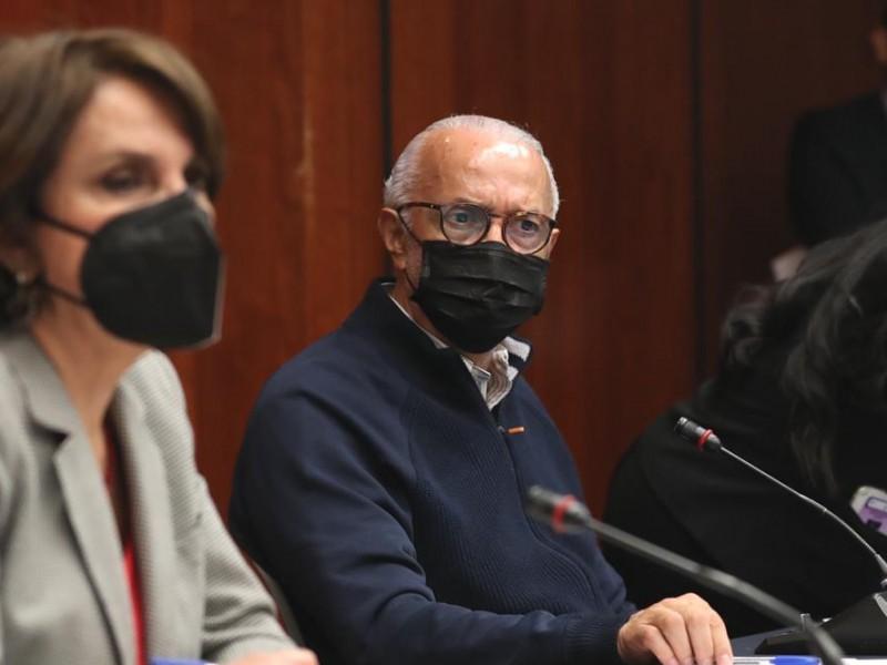 Navarro Quintero solicitó licencia para separarse de su cargo