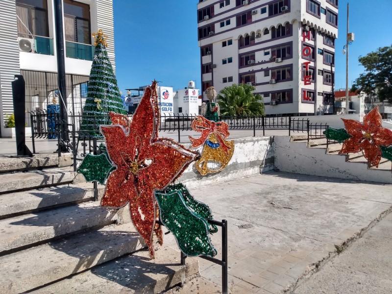 Navidad en las calles de la capital chiapaneca