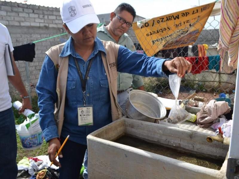 Cuatro municipios en estado crítico de cloración de agua