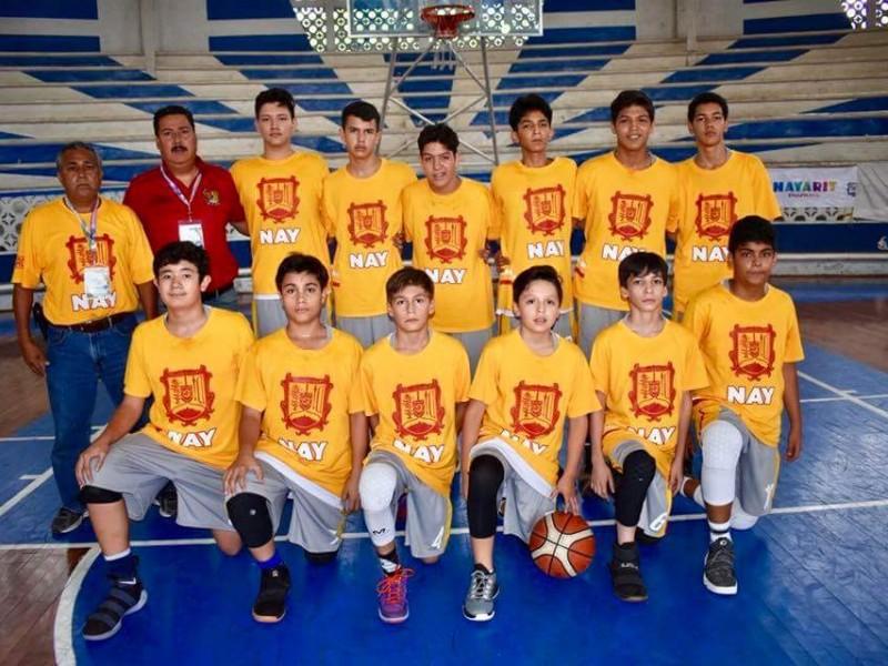 Nayarit cerró con oro en basquetbol el CONDEBA