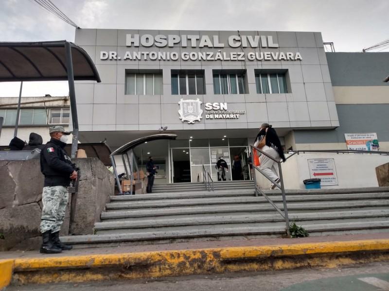 Nayarit podría superar record de ocupación hospitalaria.