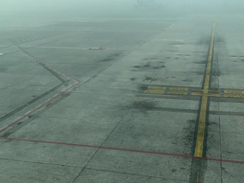 Neblina en Aeropuerto causa cancelación de 3 vuelos