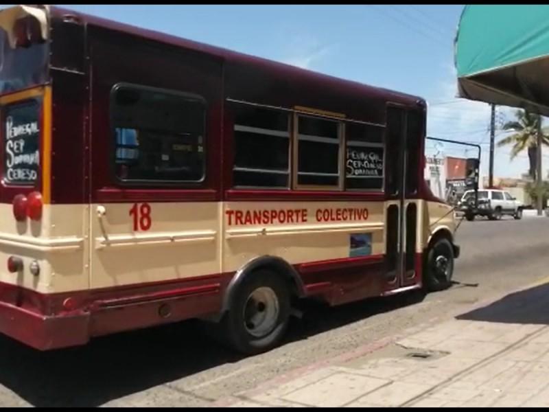 Necesitamos transporte público moderno: CCE