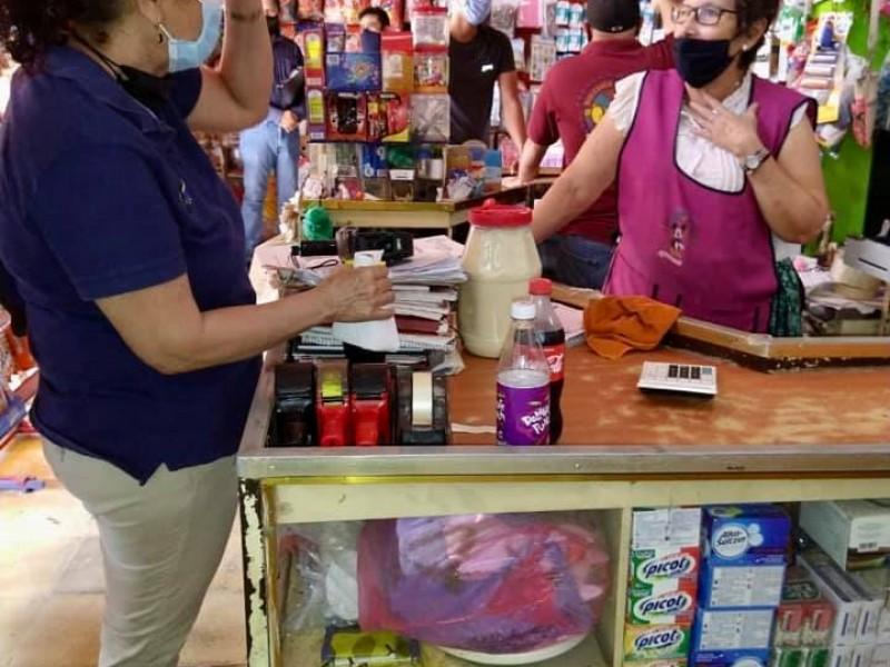 Negocios del centro de Santiago no acataban las medidas sanitarias