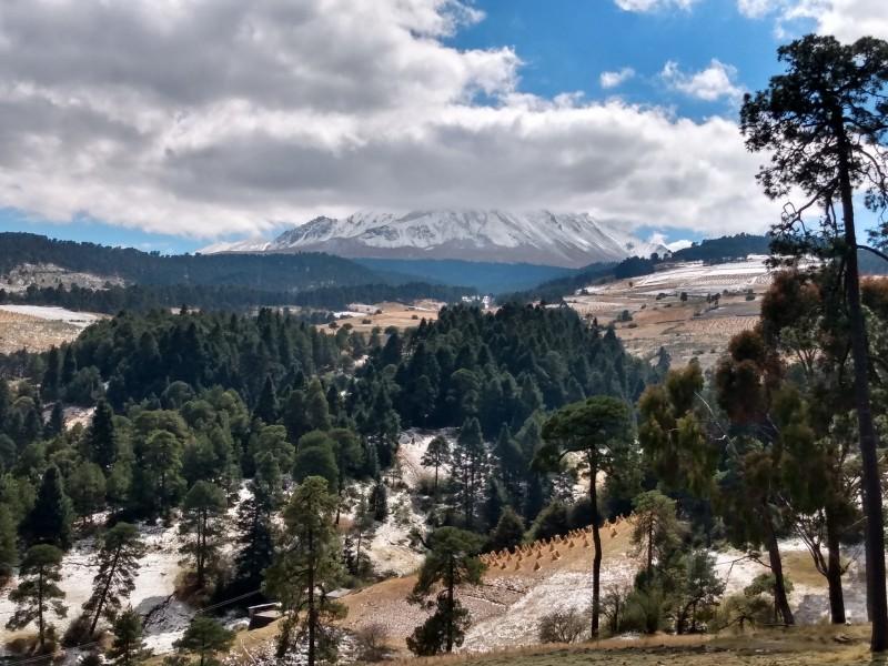 Nevado de Toluca con acceso restringido