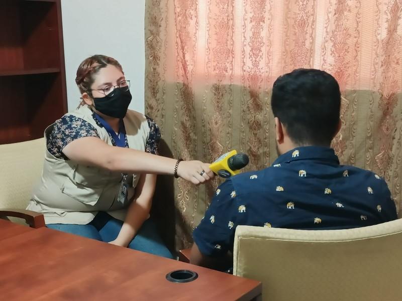 Nicaragüenses en espera de asilo político