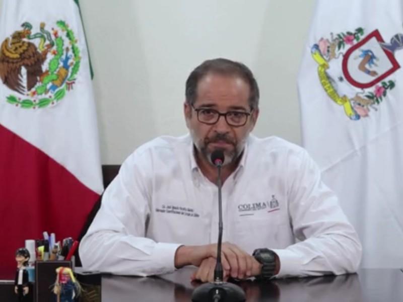 Asegura gobernador que no huirá de Colima