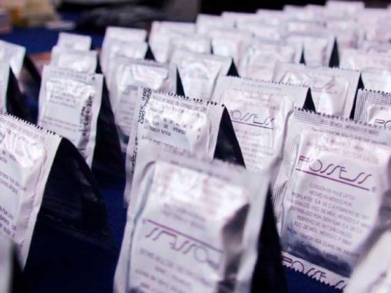 Niega Salud desabasto de condones en Nayarit