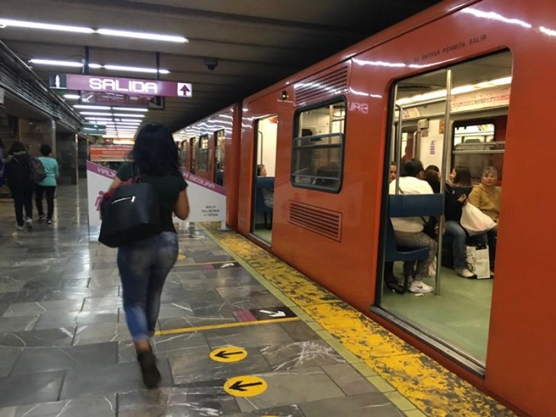 Niegan aumento de intento de secuestro en metro