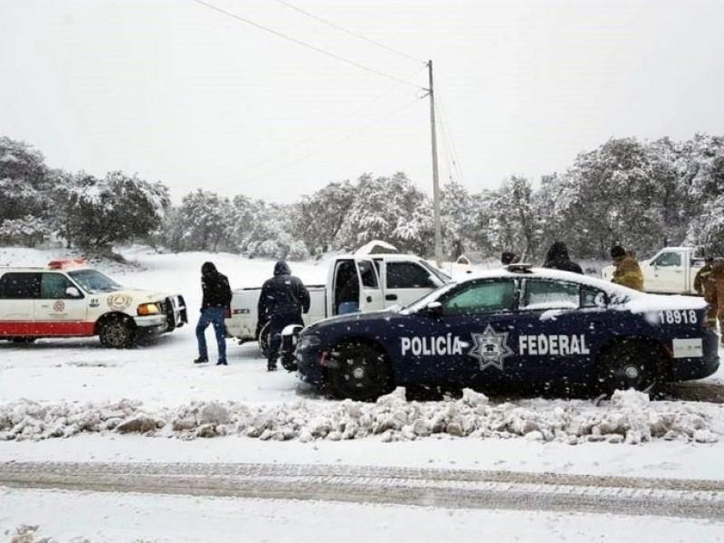 Nieve y lluvias seguirán para Sonora esta semana
