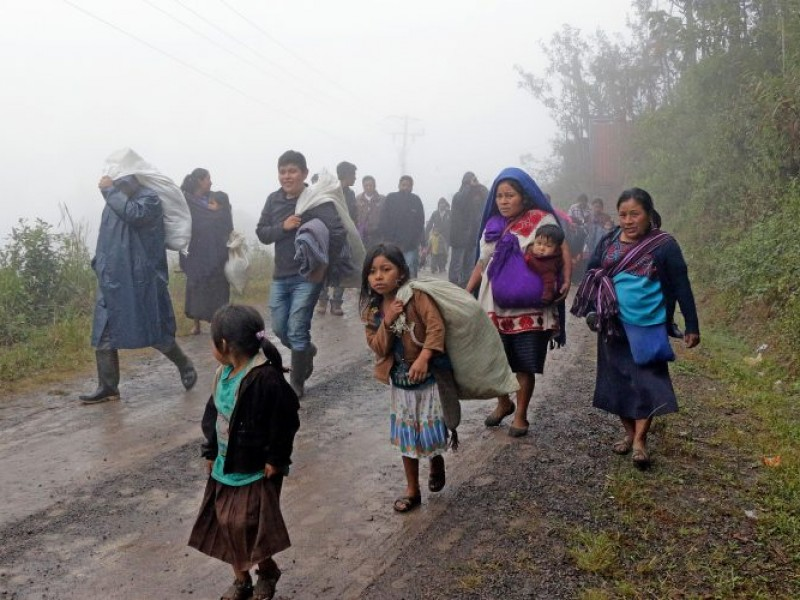 Niños desplazados sin recibir educación