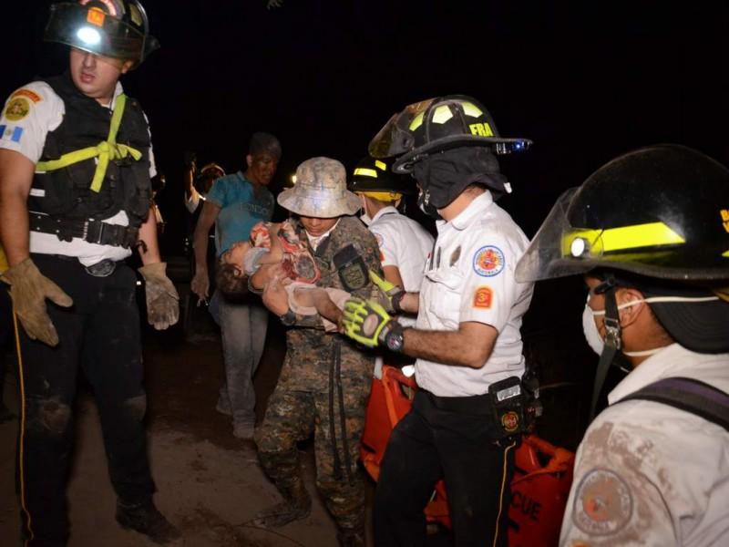 Niños quemados por erupción son tratados en Texas