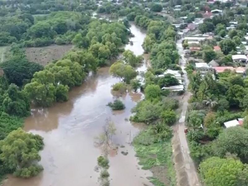 Niveles de ríos incrementan un 80% en el Istmo