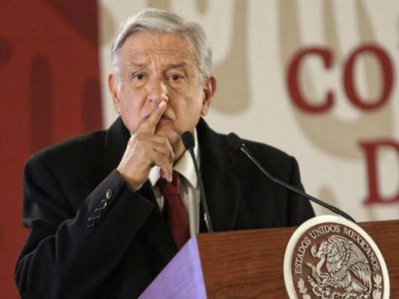 """""""No al silencio"""": AMLO por caso Bolivia"""