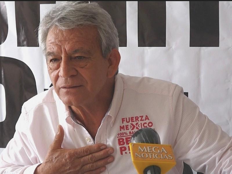 📹No busco regiduría, voy a ganar la alcaldía: Benito Pérez