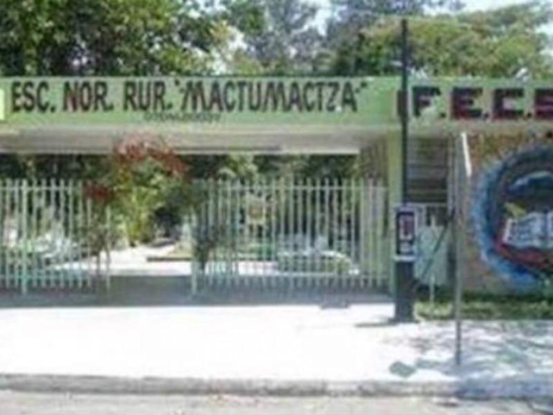 No desaparece Normal Rural Mactumatzá