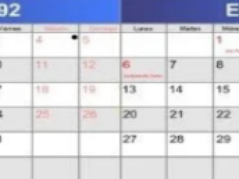 No es insólito que se repitan calendarios