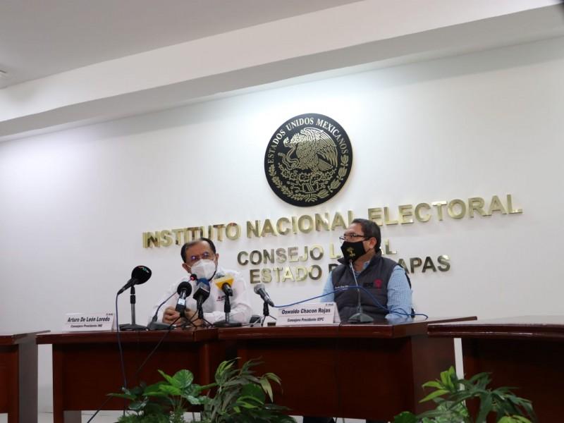 No está en riesgo la elección en Chiapas: INE