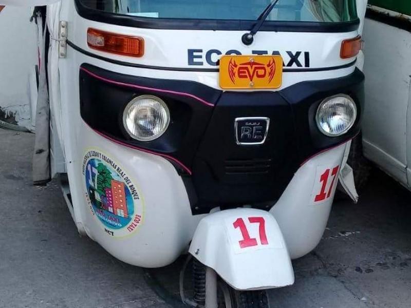 No está permitida la circulación de mototaxis:ST