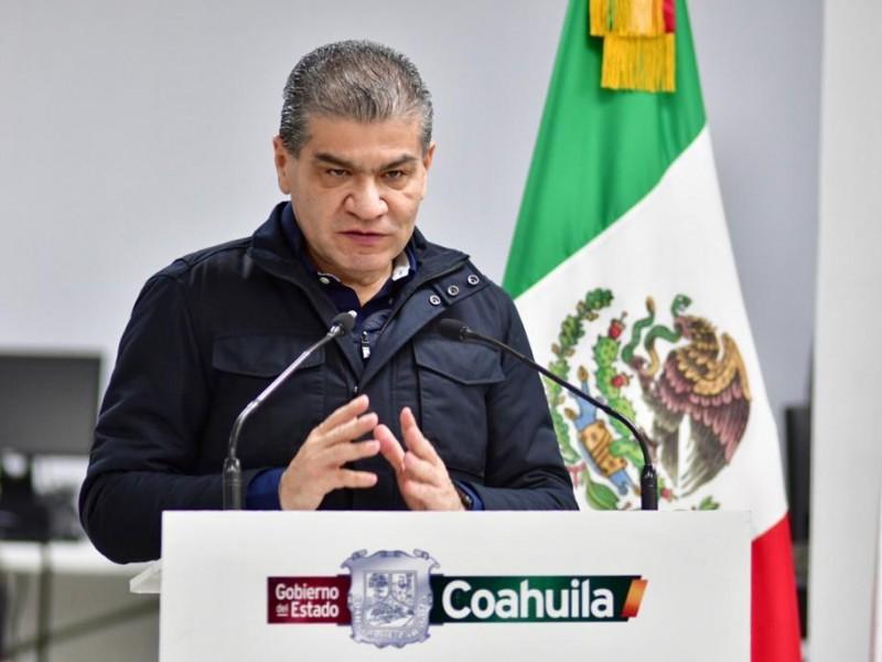 No habrá acciones por semáforo rojo en Coahuila: Gobernador