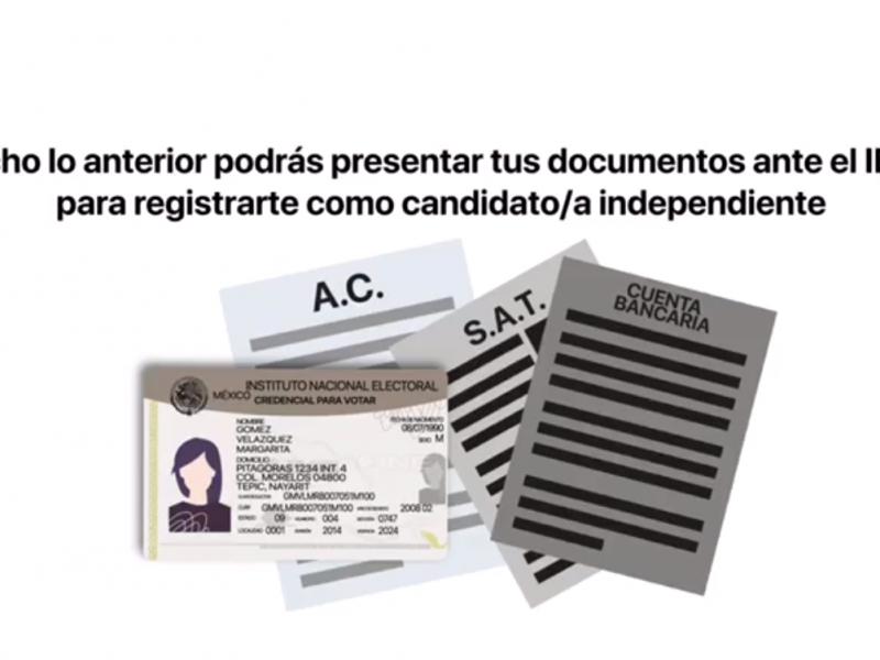 No habrá candidatos independientes para la gubernatura