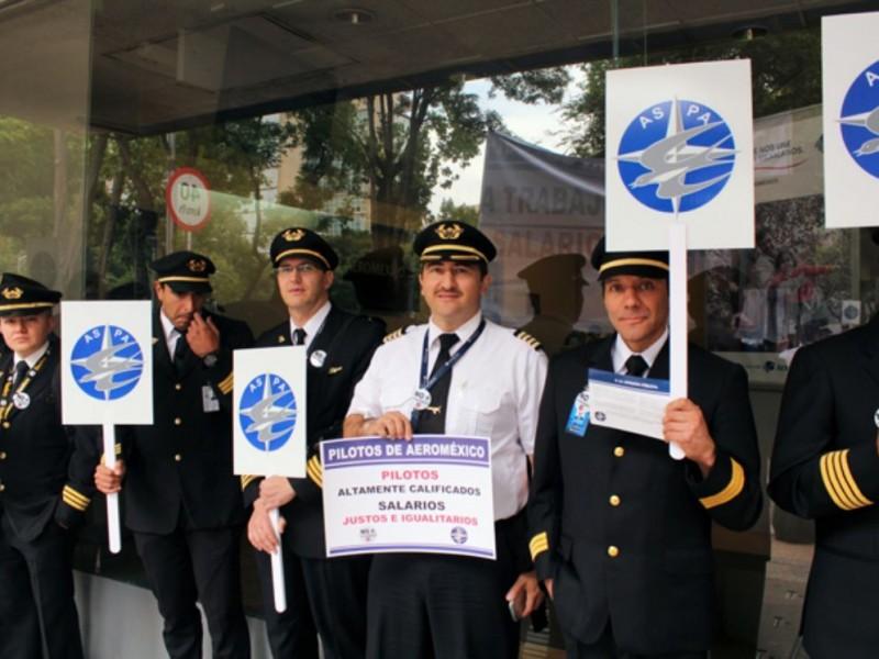 📹No habrá huelga: pilotos y Aeroméxico logran acuerdo