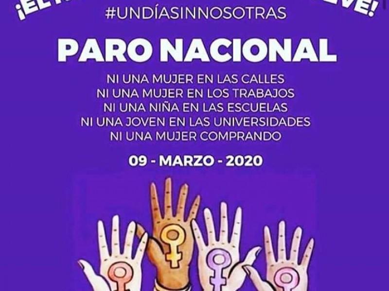 No habrá represalias por Paro Nacional de Mujeres