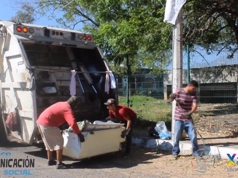 No habrá suspensión de recolección de basura en Xalisco