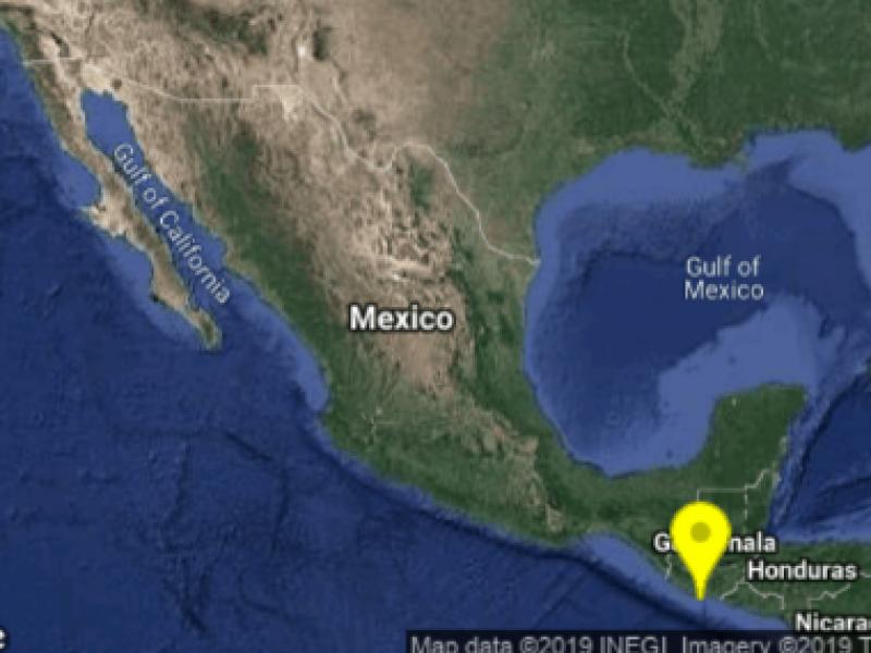 Sismo de 5.7 sacude a Chiapas
