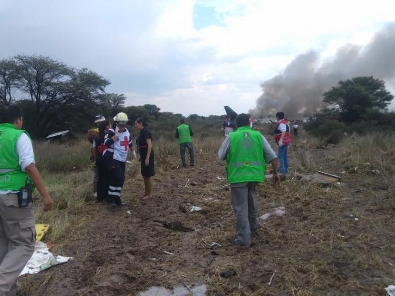 No hay fallecidos en accidente del vuelo AM2431