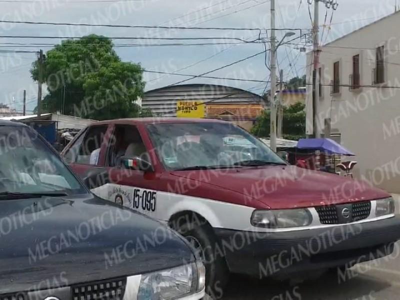 """""""No hay pirataje de taxis"""": Vialidad de Tehuantepec"""