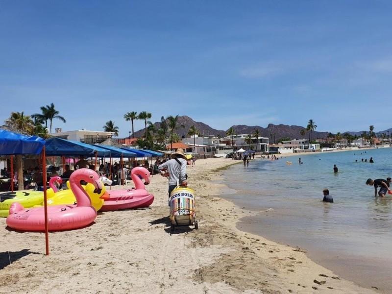 No hay reportes de multas a visitantes de playas