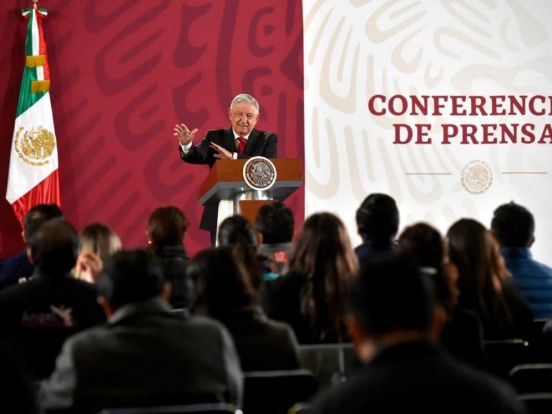 No hay venganza contra Calderón: AMLO