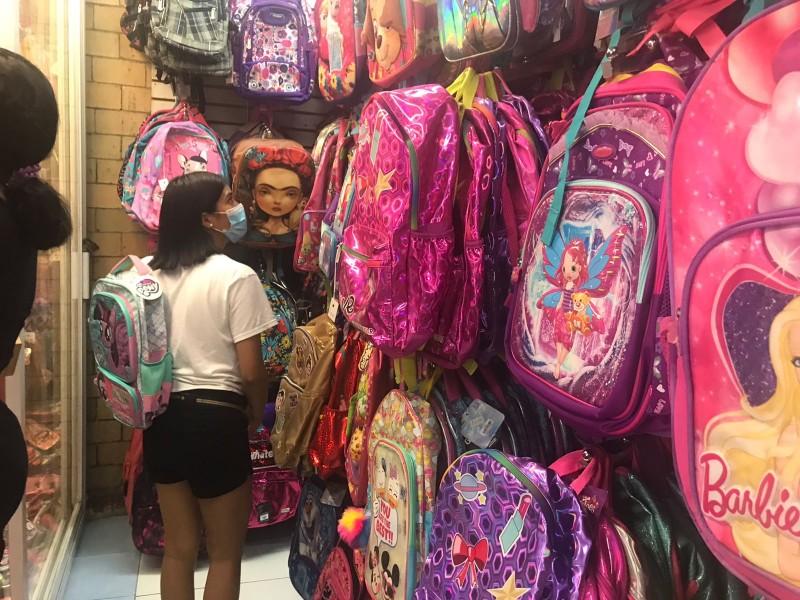 No hubo repunte en la venta de mochilas en Veracruz
