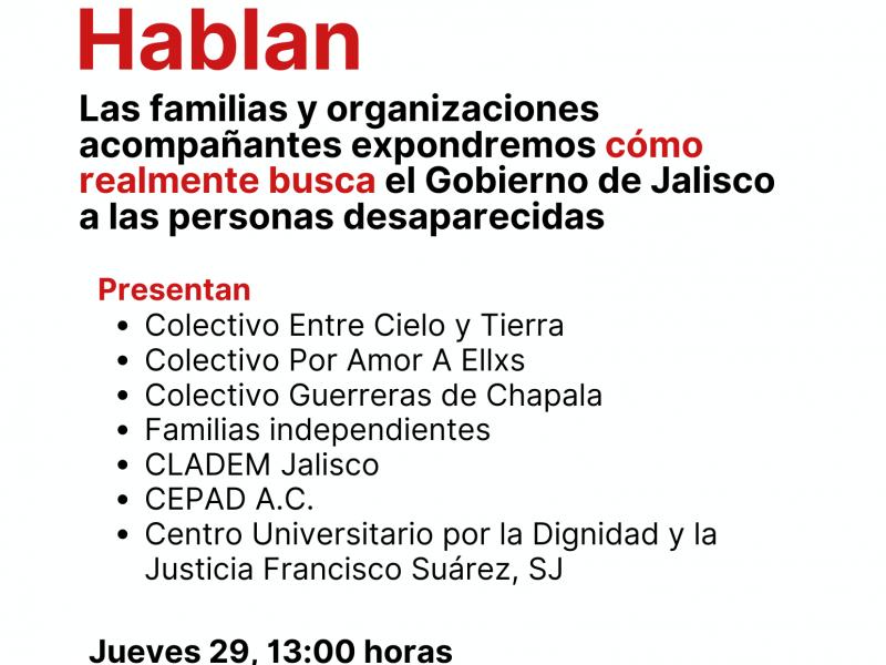 No invitaron a colectivos al informe sobre desaparecidos