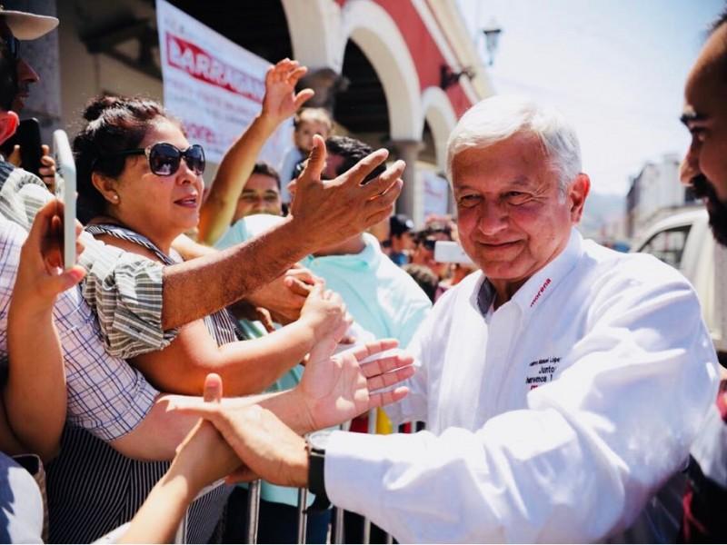 No me enojaré en el debate: López Obrador