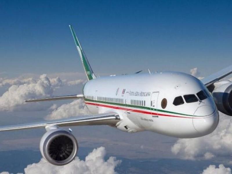No me subiré al avión presidencial: AMLO