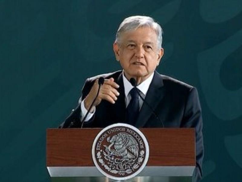 No nos preocupa la 'politiquería': López Obrador